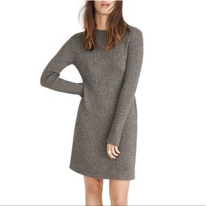 Madewell Night Sparkle Mock Neck dress